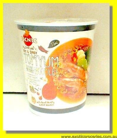 Tom Yum Flavoured Instant Cup Noodles