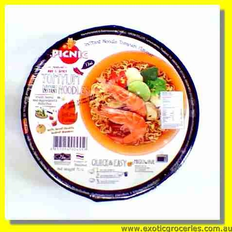 Instant Bowl Noodles Tom Yum Flavour