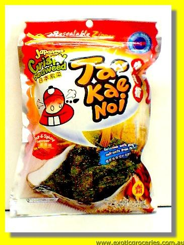 Japanese Crispy Seaweed Hot & Spicy Flavour