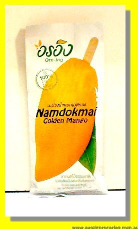 Frozen Golden Mango Stick Namdokmai