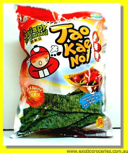Crispy Seaweed  Hot & Spicy Flavour