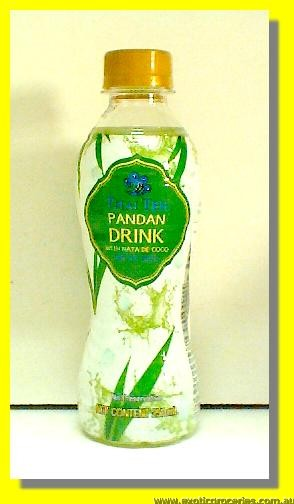 Pandan Drink with Nata De Coco