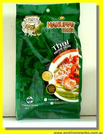 Freeze Dried Thai Papaya Salad Pickled Fish Taste