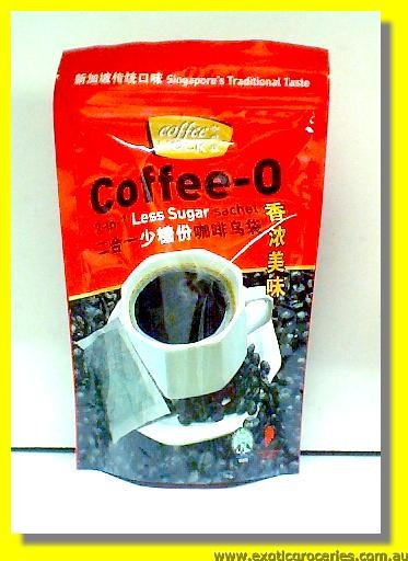 Coffee-O 2in1 Less Sugar Sachets 8Servings