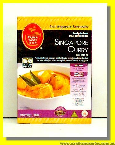 Ready to Cook Meal Kit for Singapore Curry