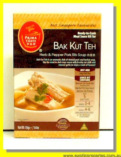 Ready to Cook Meal Sauce Kit for BakKutTeh