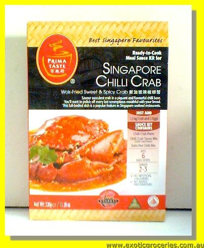 Singapore Chilli Crab Meal Kit