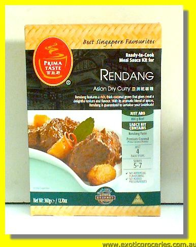 Rendang Meal Kit