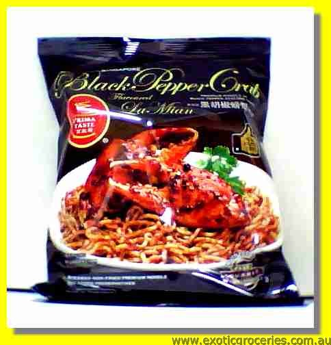 Black Pepper Crab Flavoured La Mian