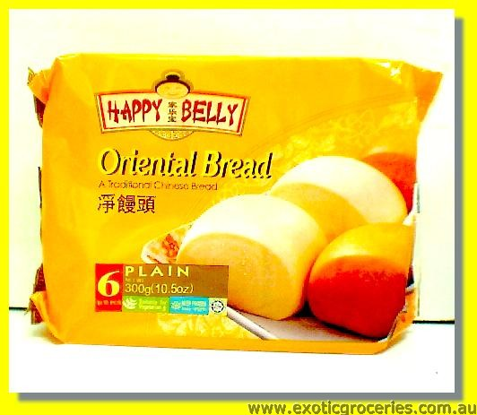 Frozen Oriental Bread Plain 6pcs
