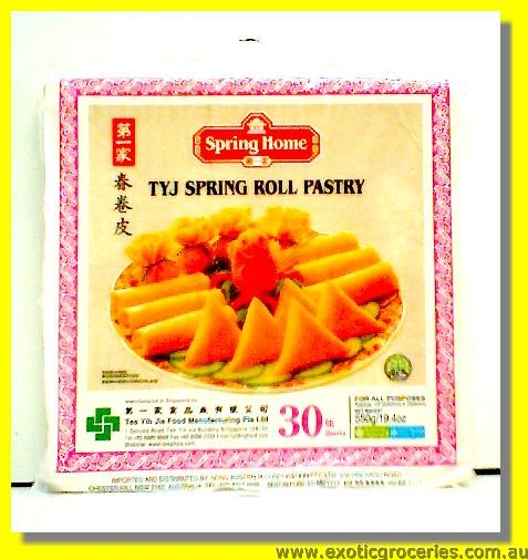 TYJ Spring Roll Pastry 10 inch
