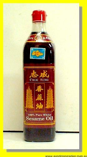 100% Pure White Sesame Oil