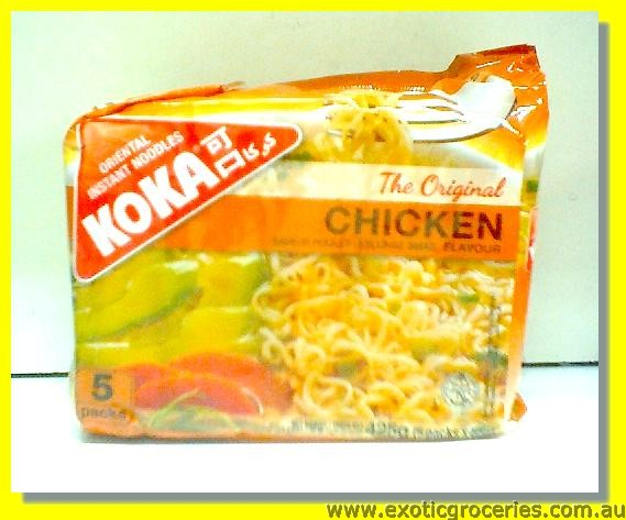 Oriental Instant Noodles Chicken Flavour 5packs