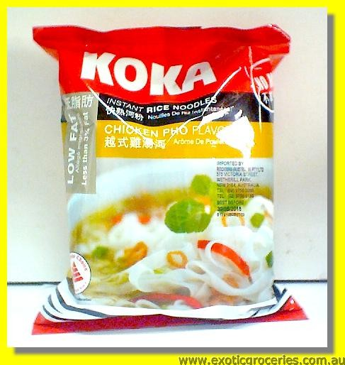 Instant Rice Noodles Chicken Pho Flavour