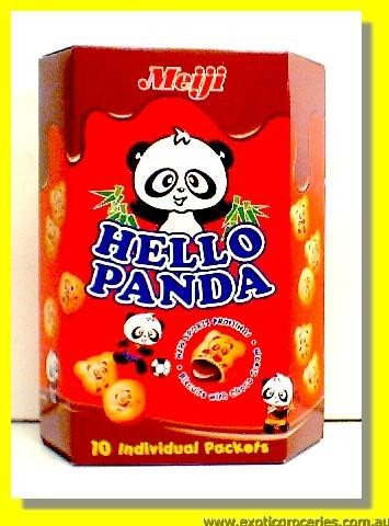 Hello Panda Chocolate Biscuits 10pkts