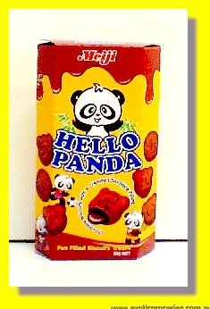 Hello Panda Choco Biscuits with Choco Cream