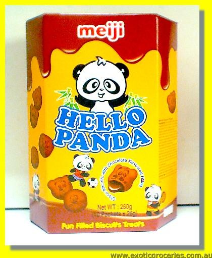 Hello Panda Double Chocolate Flavoured Biscuits