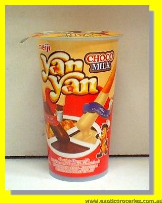 Yan Yan Choco Milk Flavoured Dip Biscuit Snack