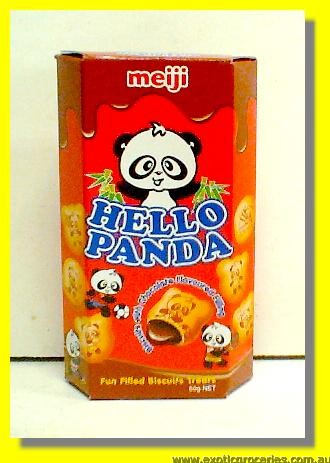 Hello Panda Biscuits with Chocolate Flavoured Fillling