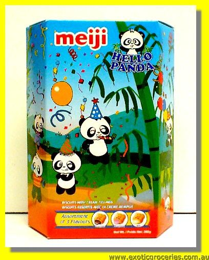 Hello Panda Biscuits with Assorted Cream Fillings 10packs