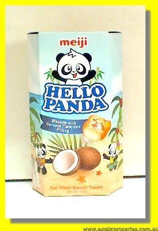 Hello Panda Biscuits with Coconut Flavoured Filling