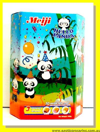 Hello Panda Assorted Biscuits 10pkts