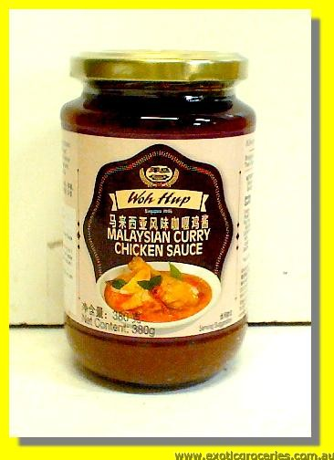 Malaysian Curry Chicken Sauce
