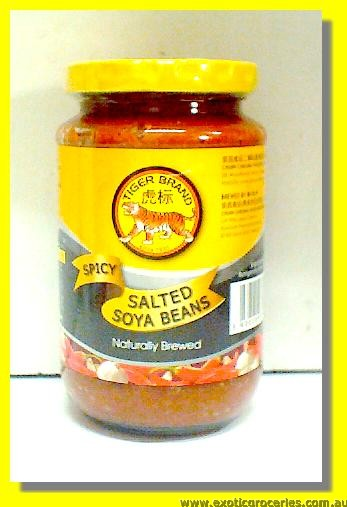 Spicy Salted Soya Beans