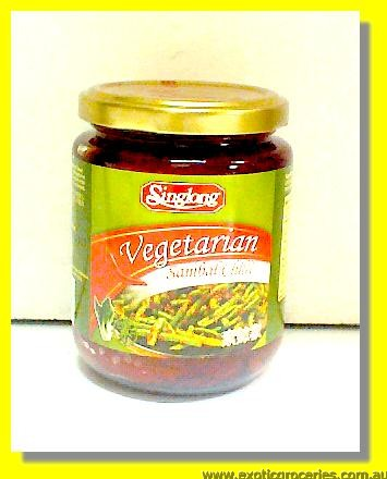 Vegetarian Sambal Chilli