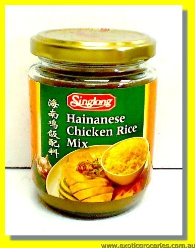 Hainanese Chicken Rice Mix