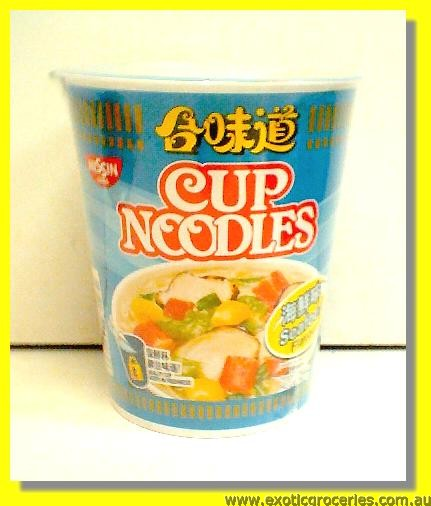 SEAFOOD CUP NOODLES