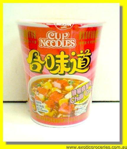 CHILLI CRAB CUP NOODLES
