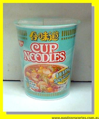 Spicy Seafood Cup Noodles