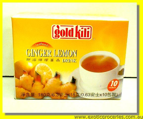 Instant Ginger Lemon Drink 10sachets