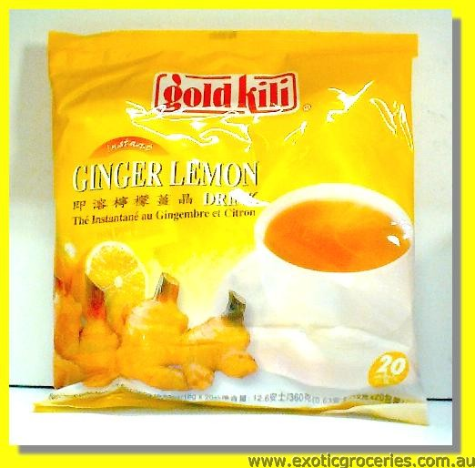 Instant Ginger Lemon Drink 20sachets