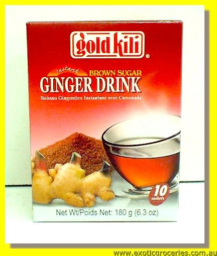 Instant Brown Sugar Ginger Drink 10sachets