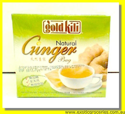 Natural Ginger Bag 20sachets