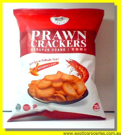 Prawn Crackers Hot & Spicy Kerupuk Udang