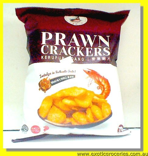Prawn Crackers Smoky BBQ Flavour
