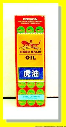 Tiger Balm Oil Liniment