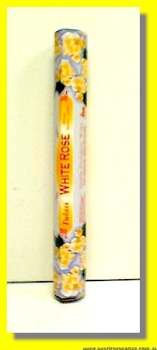 White Rose Incense Sticks 20sticks