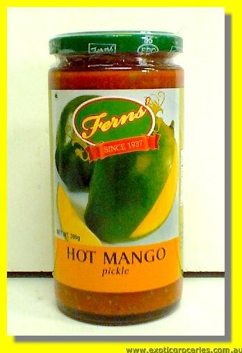 Hot Mango Pickle in Oil