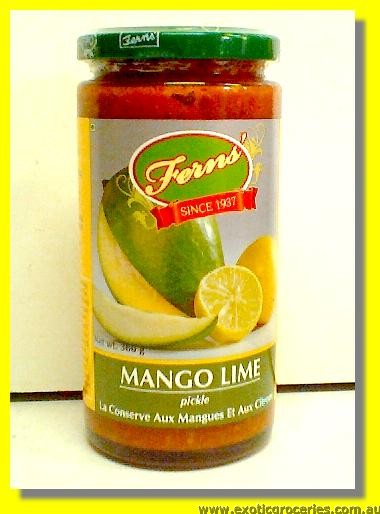 Mango Lime Pickle in Oil