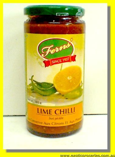 Hot Lime Chilli Pickle in Oil