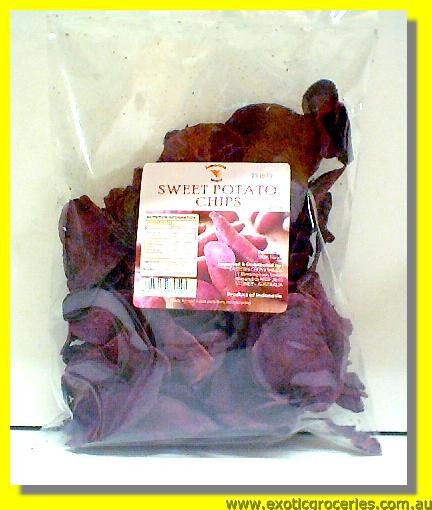 Sweet Purple Potato Chips