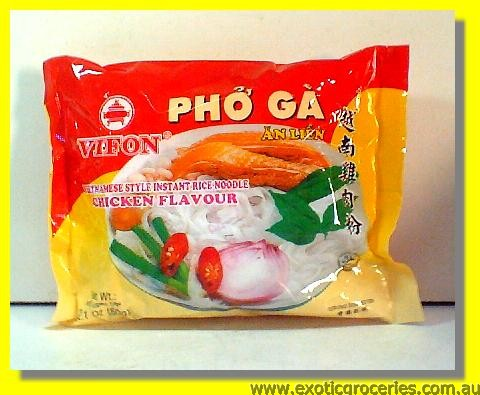 Vietnamese Style Instant Rice Noodle Chicken Flavour