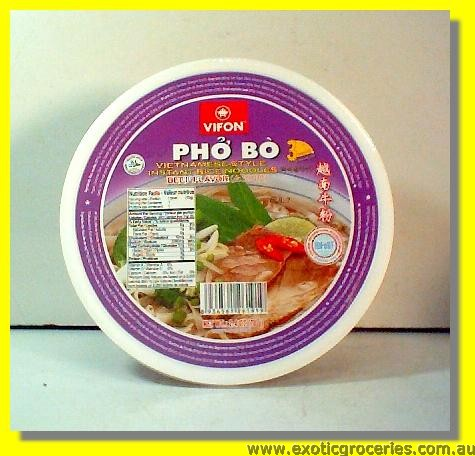 Vietnamese Style Instant Rice Noodles Beef Flavour