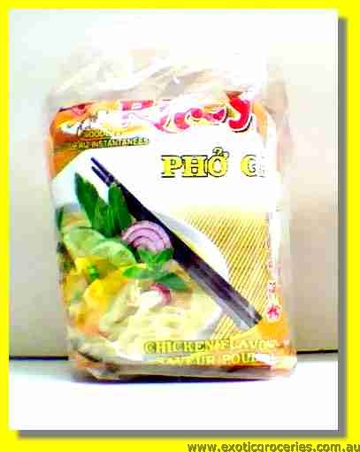 Chicken Flavour Instant Rice Noodles 4pcs
