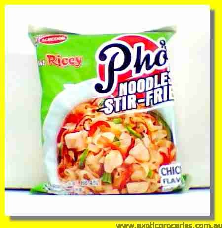 Oh Ricey Pho Noodle Stir Fried Chicken Flavour