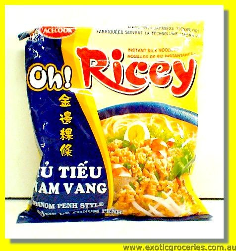 Oh Ricey Instant Rice Noodles Phnom Penh Style